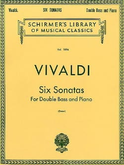 VIVALDI - 6 Sonatas - String bass - Sheet Music - di-arezzo.co.uk