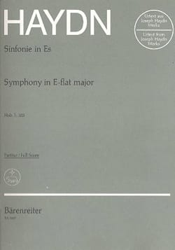 HAYDN - Symphony No. 103 E Flat Major - Partitur - Sheet Music - di-arezzo.co.uk