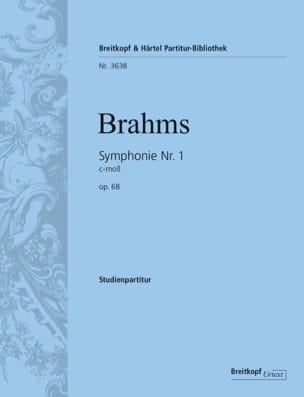 BRAHMS - Symphony No. 1 - Conductor - Sheet Music - di-arezzo.com