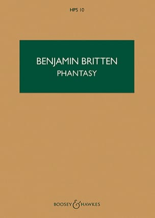Benjamin Britten - Phantasy - Score - Sheet Music - di-arezzo.co.uk