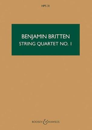 Benjamin Britten - String quartet n ° 1 op. 25 - Score - Sheet Music - di-arezzo.com