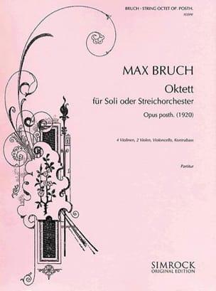 Oktett op. posth. - Soli o. Streichorchester - Partitur - laflutedepan.com