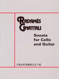 Radamès Gnattali - Sonate - ギターチェロ - 楽譜 - di-arezzo.jp