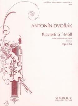 Klaviertrio f-moll op. 65 -Stimmen DVORAK Partition laflutedepan