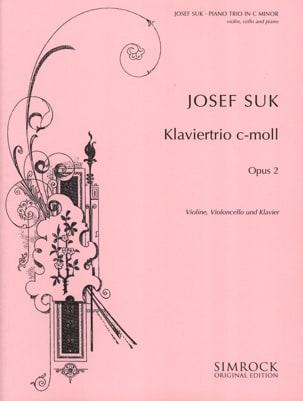 Klaviertrio c-moll op. 2 -Stimmen Josef Suk Partition laflutedepan