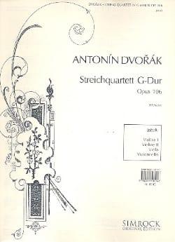 String quartet G major op. 106 -Parts - laflutedepan.com