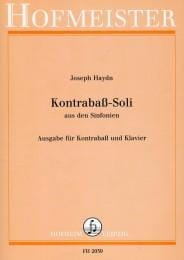 HAYDN - Kontrabass - Soli - Sheet Music - di-arezzo.co.uk