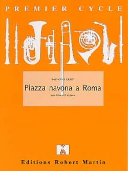 Piazza Navona a Roma Raymond Guiot Partition laflutedepan