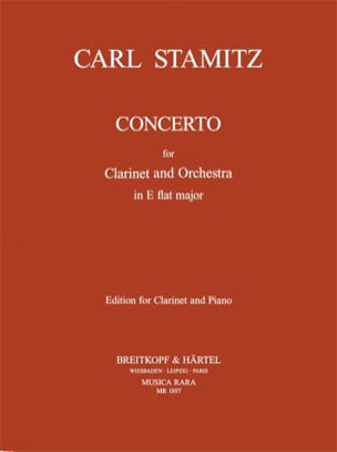 Carl Stamitz - Clarinet Concerto Eb Major - Partitura - di-arezzo.es