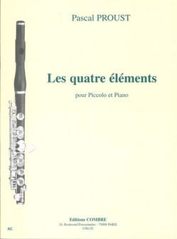 Pascal Proust - The four elements - Sheet Music - di-arezzo.com