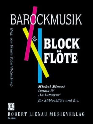Michel Blavet - Sonata 4 The Lumague op. 2 n ° 4 - Alblockflöte - Sheet Music - di-arezzo.co.uk