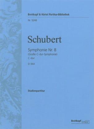 Symphonie Nr. 8 C-Dur D. 944 - Partitur - SCHUBERT - laflutedepan.com