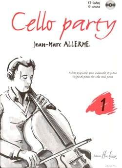 Cello Party Volume 1 - Jean-Marc Allerme - laflutedepan.com