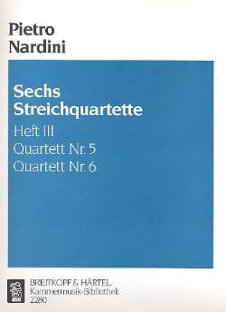 6 Streichquartette, Heft 3 : Nr. 5-6 -Stimmen laflutedepan