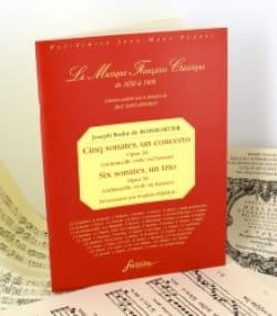 Joseph Bodin De Boismortier - Cinq sonates, un concerto op. 26 / 6 sonates, un trio op. 50 - Partition - di-arezzo.fr