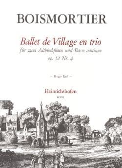 Ballet de village en trio op. 52 n° 4 -2 Blockflöten Klavier laflutedepan