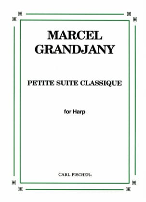 Marcel Grandjany - Small classic suite - Sheet Music - di-arezzo.co.uk