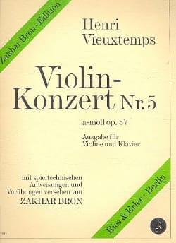 Concerto Violon n° 5 la mineur op. 37 - laflutedepan.com