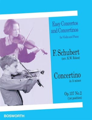 Concertino in A minor op. 137 n° 2 - Violin SCHUBERT laflutedepan