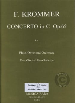 Franz Krommer - Concerto in C major op. 65 - Flute oboe piano - Sheet Music - di-arezzo.co.uk