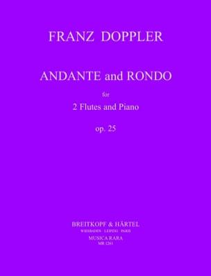 Andante and Rondo op. 25 Franz Doppler Partition Trios - laflutedepan