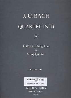Quartet in D major - Flute string trio String quartet - Parts laflutedepan