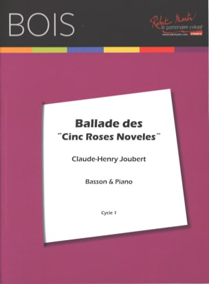Claude-Henry Joubert - Ballade of the Five Roses Noveles - Sheet Music - di-arezzo.co.uk