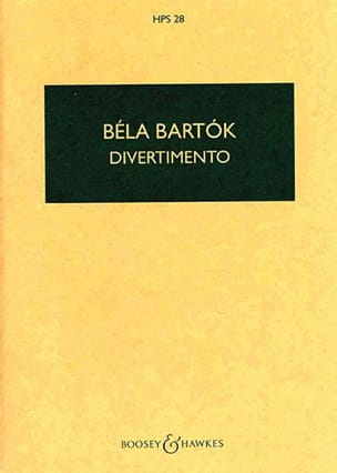 BARTOK - Divertimento - Driver - Sheet Music - di-arezzo.co.uk