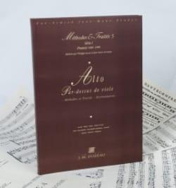 Lescat Philippe / Saint-Arroman Jean - Alto par-dessus de viole (Méthodes & Traités) – Fac Simile - Partition - di-arezzo.fr
