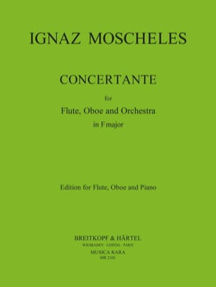Ignaz Moscheles - Concertante in F major - flute oboe piano - Partition - di-arezzo.fr