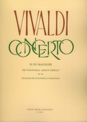 VIVALDI - Concerto in Cello Maggiore RV 399 per violoncello - Partition - di-arezzo.com