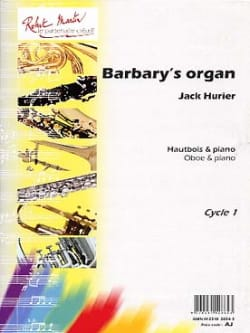 Jack Hurier - Barbary's organ - Partition - di-arezzo.fr