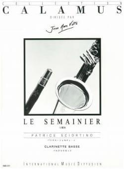 Patrice Sciortino - Le semainier - Partition - di-arezzo.fr