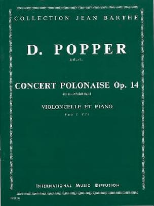 David Popper - Concert Polonaise op. 14 - Partition - di-arezzo.fr