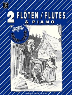 Hänsel und Gretel - 2 Flöten Klavier laflutedepan