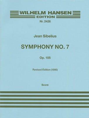 Jean Sibelius - Symphonie n° 7 op. 105 – Partitur - Partition - di-arezzo.fr