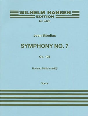 Jean Sibelius - Symphony No. 7 op. 105 - Partitur - Sheet Music - di-arezzo.co.uk