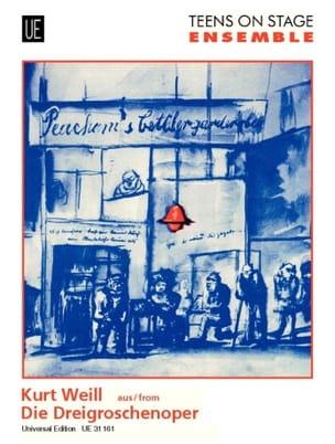Kurt Weill - Dreigroschenoper -Ensemble - Partition - di-arezzo.fr