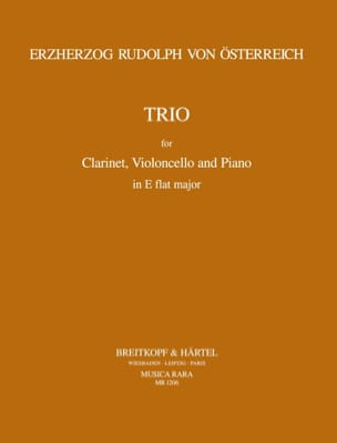 Trio in E-flat major - Clarinet cello piano laflutedepan