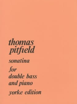 Thomas Pitfield - Sonatina - Partition - di-arezzo.fr