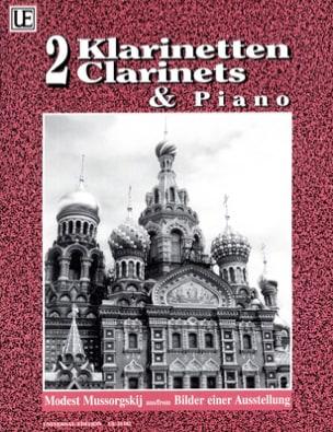 Modeste Moussorgski - Bilder einer Ausstellung –Klarinetten Klavier - Partition - di-arezzo.fr