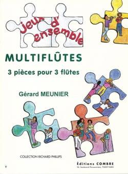 Gérard Meunier - Multiflûtes - Partition - di-arezzo.fr