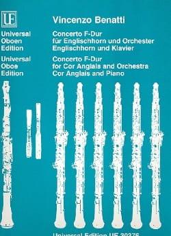 Vincenzo Benatti - Concierto F-Dur - Englishhorn Klavier - Partitura - di-arezzo.es