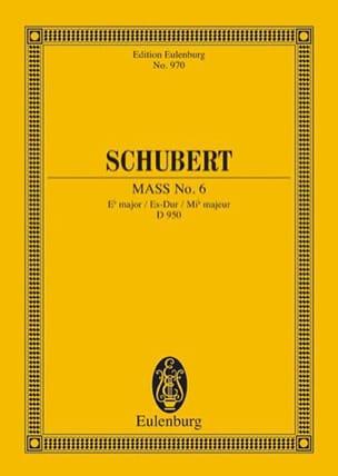 SCHUBERT - Messe Nr. 6 Es-Dur - Partition - di-arezzo.fr