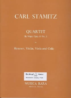 Quartet Bb major op. 19 n° 5 - Bassoon violin viola cello - laflutedepan.com