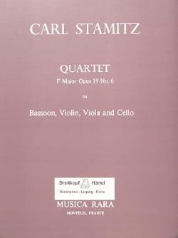 Quartet F major op. 19 n° 6 -Bassoon violin viola cello laflutedepan