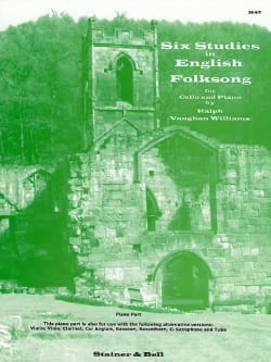 Williams Ralph Vaughan - 6 Studies in English Folksong - Cello piano - Partition - di-arezzo.fr