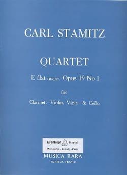 Quartet E flat maj. op. 19 n° 1 -Clarinet violin viola cello laflutedepan