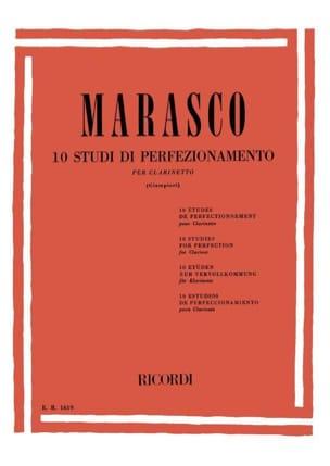 Giuseppe Marasco - 10 Studi di perfezionamento - Clarinetto - Sheet Music - di-arezzo.co.uk