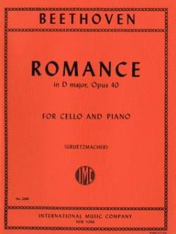 Romance en Sol Major Op. 40 - BEETHOVEN - Partition - laflutedepan.com